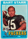 Bart Starr Packers 1971 Topps #200 Card