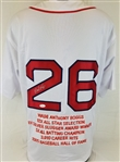 Wade Boggs Signed Boston Red Sox Custom Stat Jersey (JSA Witness COA)