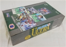 1991 Fleer Ultra Football Factory Sealed Box w/ 36 Wax Packs (Favre Rookie)