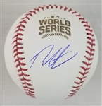 Theo Epstein Signed Official 2016 World Series Baseball (Schwartz Sports COA)