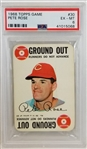 Pete Rose Reds 1968 Topps Game #30- Graded EX-MT 6 (PSA/DNA)
