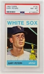 Gary Peters White Sox 1964 Topps #130 - Graded NM-MT 8 (PSA/DNA)