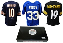 Football Superstar Signed Mystery Box Football Jersey Series 7 - (Limited to 100)