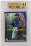 Willy Adames 2015 Bowman Chrome #105 Rookie Card Lmt Ed. #009/250 - Graded Gem Mint 9.5 (BGS)