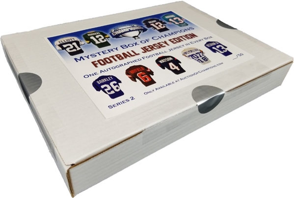 #20 of 50 - Autographed Football Jersey Mystery Box - Series 2 - Brady, Rodgers & much more!