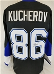 Nikita Kucherov Signed Tampa Bay Lightning Custom Black Jersey (JSA Witness COA)