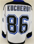Nikita Kucherov Signed Tampa Bay Lightning Custom White Jersey (JSA Witness COA)