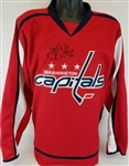 T.J. Oshie Signed Washington Capitals Custom Jersey (JSA COA)