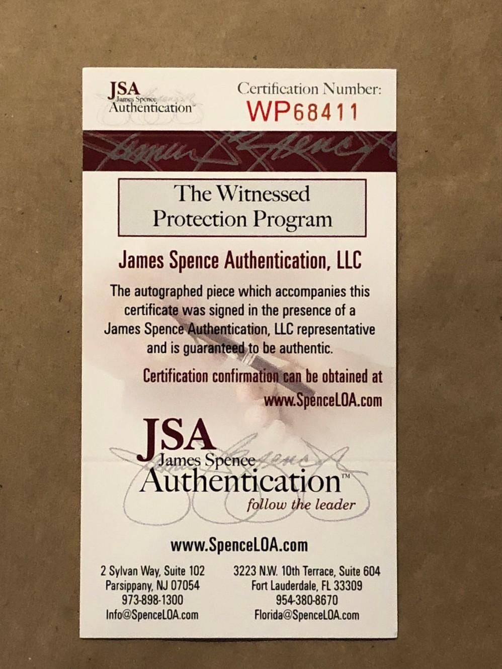3af1c66f325 Jesse James Signed Pittsburgh Steelers Custom Jersey Framed Display (JSA  Witness COA). Hover to zoom. Prev Next