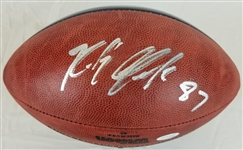 Rob Gronkowski Signed Official Super Bowl LI Champions Game Football (JSA Witness COA)