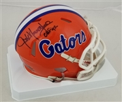 "Jack Youngblood ""CHF 92"" Signed Florida Gators Mini Helmet (Schwartz Sports COA)"