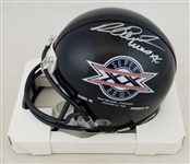 "Richard Dent ""MVP XX"" Signed Super Bowl XX Chicago Bears Mini Helmet (Schwartz Sports COA)"