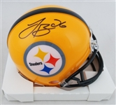 LeVeon Bell Signed Pittsburgh Steelers Mini Helmet (JSA Witness COA)