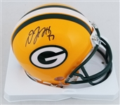Davante Adams Signed Green Bay Packers Mini Helmet (JSA Witness COA)