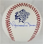 Mariano Rivera Signed Official 1999 World Series Baseball (Steiner COA)