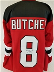 Will Butcher Signed New Jersey Devils Custom Jersey (JSA Witness COA)