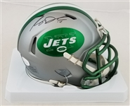 Sam Darnold Signed New York Jets Blaze Mini Helmet (JSA Witness COA)