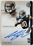 Anthony Miller Bears Signed 2018 Panini Rookie Card #94