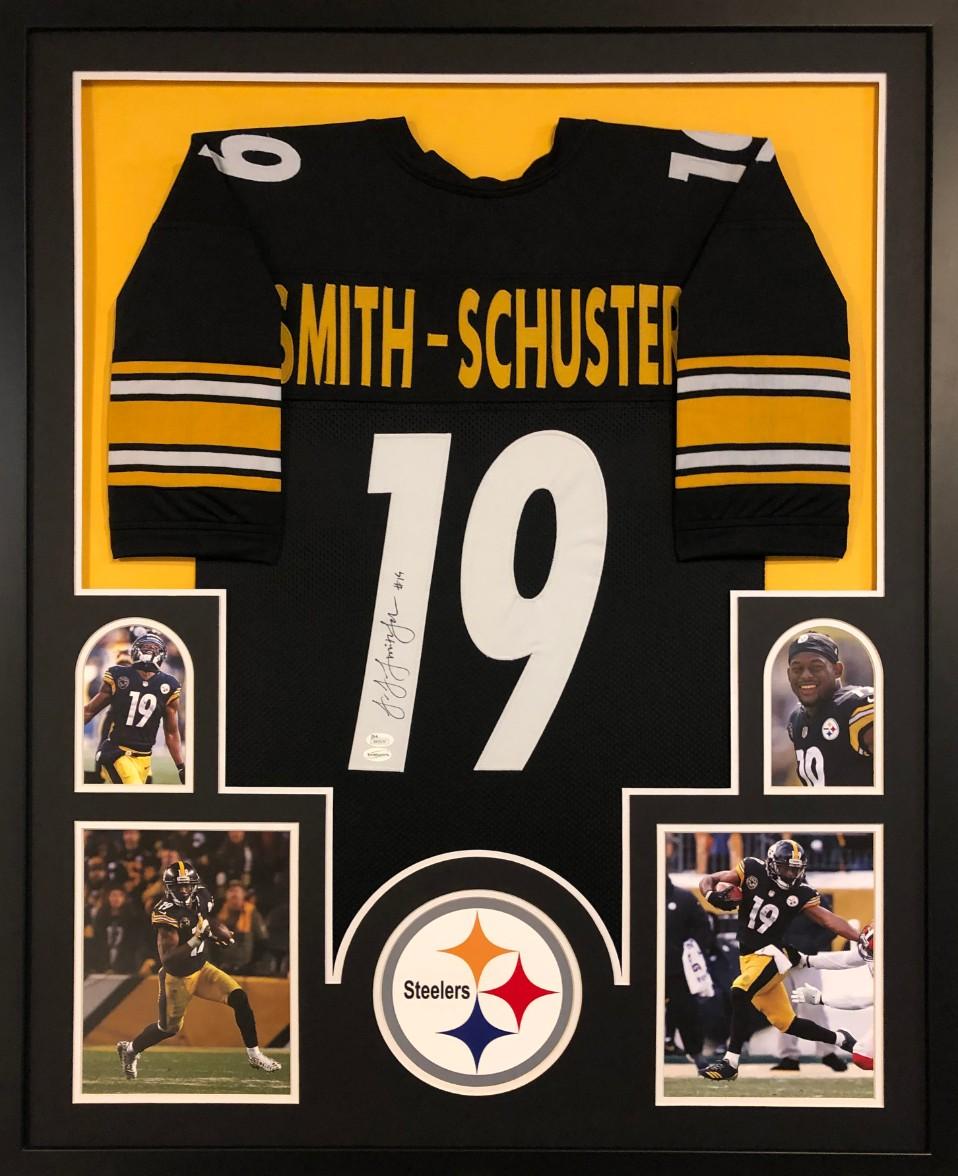 d8a634a934d Juju Smith-Schuster Signed Pittsburgh Steelers Custom Jersey Framed Display  (JSA COA). Prev Next