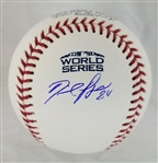 David Price Signed Official 2018 World Series Baseball (MLB Certified)