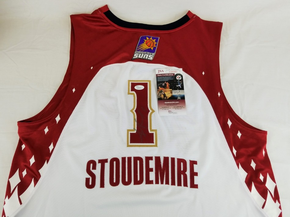 Amare Stoudemire Signed Phoenix Suns Adidas 2007 NBA All-Star Jersey (JSA  COA). Hover to zoom. Prev Next c2fc8e522
