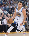 Stephen Curry Signed Golden State Warriors 8x10 Photo (PSA/DNA COA)