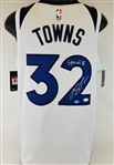 "Karl-Anthony Towns ""Special K"" Signed Timberwolves Nike Swingman Jersey (JSA COA)"