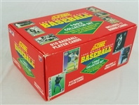 1992 Score Baseball Complete Collector Set of 910 Cards