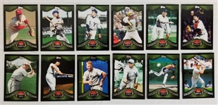 Lot of (12) 2009 Topps Legends of the Game Baseball Cards