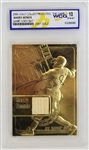 Barry Bonds 23kt Gold Collectibles Game-Used Bat Trading Card - Graded Gem Mint 10! (WCG)