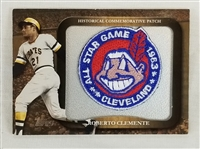 Roberto Clemente 2009 Topps Commemorative 1963 MLB All-Star Game Patch Card #LPR-29