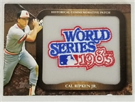 Cal Ripken Jr. 2009 Topps Commemorative 1983 World Series Patch Card #LPR-45