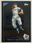 Mickey Mantle Yankees 2009 Topps #7 Baseball Card (As Shortstop)