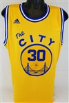 Stephen Curry Signed Adidas Swingman Golden State Warriors Jersey (Steiner COA)