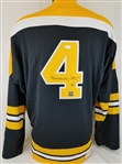 Bobby Orr Signed Boston Bruins Mitchell & Ness Vintage Hockey Jersey (JSA & GNR COAs)