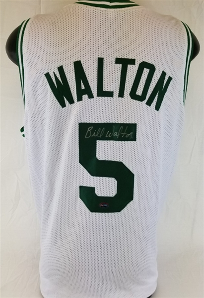 online retailer f3786 afd8f Lot Detail - Bill Walton Signed Boston Celtics Custom Jersey ...