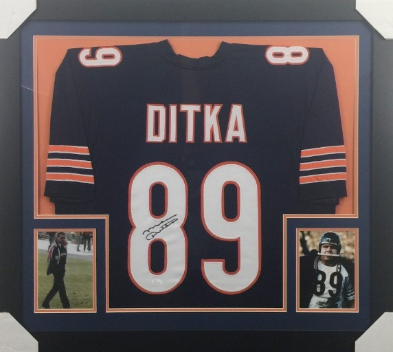 the latest 3813a 83226 Lot Detail - Mike Ditka Signed Chicago Bears Custom Jersey ...