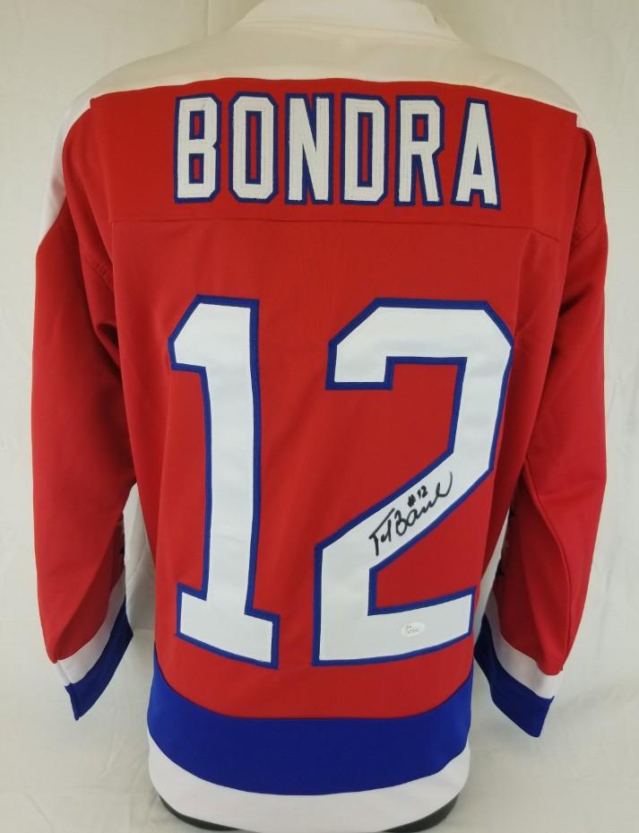 meet 7e8fa 45c45 Lot Detail - Peter Bondra Signed Washington Capitals Custom ...