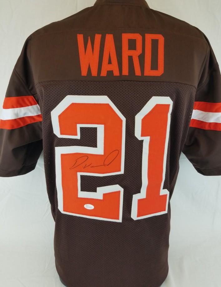 Denzel Ward Signed Cleveland Browns Custom Jersey (JSA Witness COA). Hover  to zoom 948144da5