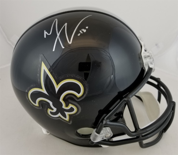 Michael Thomas Signed Full Size Replica New Orleans Saints Helmet (JSA Witness COA)