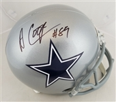 Amari Cooper Signed Full Size Replica Dallas Cowboys Helmet (Beckett COA)