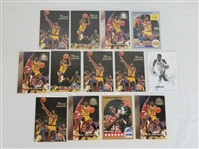 Lot of (13) Magic Johnson Los Angeles Lakers Basketball Cards