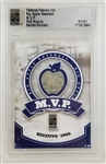 Phil Rizzuto Yankees Famous Fabrics Big Apple Baseball MVP Game-Used Patch Card