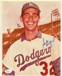 Sandy Koufax Signed Los Angeles Dodgers 8x10 Photo (JSA COA)