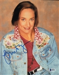 Laurie Metcalf Signed Roseanne 8x10 Photo (Beckett COA)
