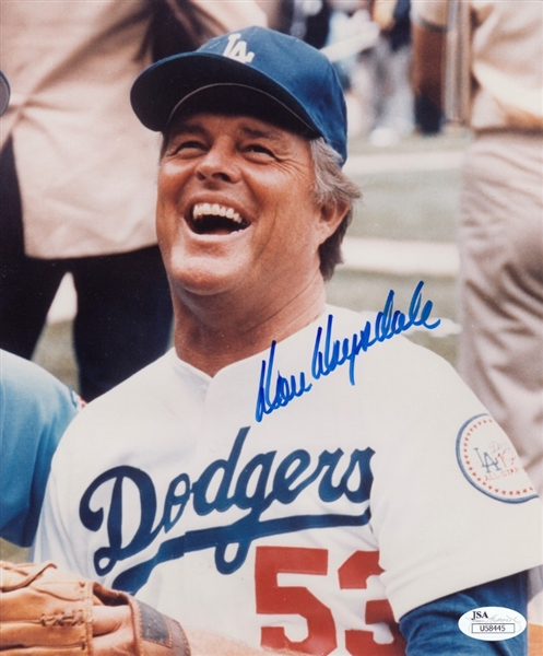 Don Drysdale Signed Los Angeles Dodgers 8x10 Photo (JSA COA)