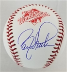 Barry Larkin Signed Official 1990 World Series Baseball (Schwartz Sports COA)
