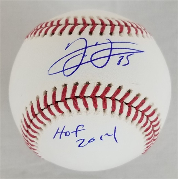 "Frank Thomas ""HOF 2014"" Signed OML Baseball (Schwartz Sports COA)"