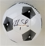Hope Solo Signed Franklin Official Size Soccer Ball (Schwartz Sports COA)