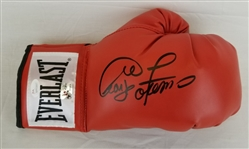 George Foreman Signed Everlast Boxing Glove (JSA Witness COA)